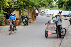 Hoi An Street Scene Royalty Free Stock Images