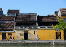 Hoi An street scene Royalty Free Stock Photos
