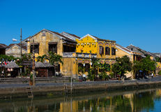 Hoi An street scene Stock Photo