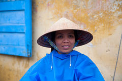 Hoi An street seller Royalty Free Stock Image