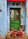 Hoi An Street Vendor Royalty Free Stock Photos