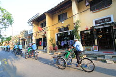 Hoi An street view in Vietnam Stock Images