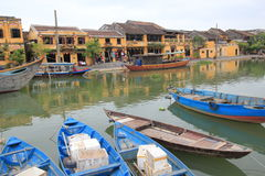 Hoi An street view in Vietname Royalty Free Stock Images