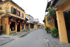 Hoi An street view in Vietname Royalty Free Stock Photography
