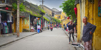 Hoi An Street, Vietnam Stock Photos
