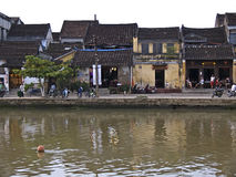 Hoi An,Vietnam. The old town from the village Hoi An in vietnam Stock Image