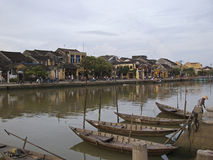 Hoi An,Vietnam. The old town from the village Hoi An in vietnam Stock Photos