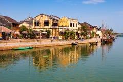 Hoi An, Vietnam. Panoramic view of Hoi An old town, Vietnam Stock Image