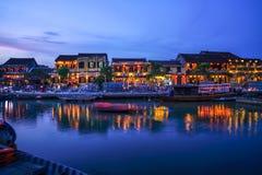 Hoi An, Vietnam. Hoi An Ancient Town, Vietnam in the evening Stock Photos
