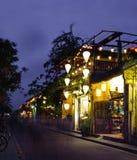 HOI, VIETNAM - 15 DE MARZO DE 2017: Hoi An en la noche Imagenes de archivo