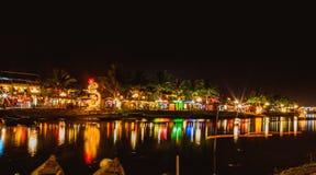 HOI, VIETNAM - 15 DE MARZO DE 2017: Hoi An en la noche Imagen de archivo