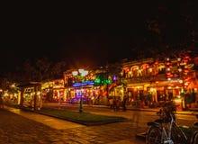 HOI, VIETNAM - 15 DE MARZO DE 2017: Hoi An en la noche Foto de archivo libre de regalías