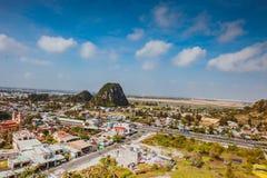 HOI, VIETNAM - 20. MÄRZ 2017: Ansicht von Marmorhügeln in Bezirk Ngu Hanh Son, Vietnam Stockfotos