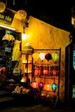 HOI, VIETNAM - 17. MÄRZ 2017: Traditioneller Laternenspeicher in Hoi An, Vietnam, Hoi eine alte Stadt wird erkannt Stockfotografie