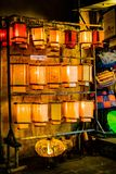 HOI, VIETNAM - 17. MÄRZ 2017: Traditioneller Laternenspeicher in Hoi An, Vietnam, Hoi eine alte Stadt wird erkannt Lizenzfreie Stockbilder