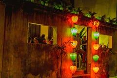 HOI, VIETNAM - 17. MÄRZ 2017: Traditioneller Laternenspeicher in Hoi An, Vietnam, Hoi eine alte Stadt wird erkannt Lizenzfreie Stockfotos