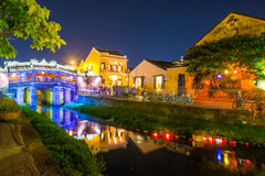 Hoi An - Vietnam Mar 15 ::  City of light in Hoi An ancient town Stock Photography