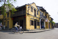 HOI AN, VIETNAM-MARCH 2015 - Hoi an is a peaceful city and a lot of unique house. Everyone love Hoi an, Vietnam.  Stock Photos