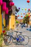 Hoi An - Vietnam Mars 16:: härlig arkitektur för trevlig stad på Fotografering för Bildbyråer