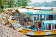 Hoi An - Vietnam Mars 16:: härlig arkitektur för trevlig stad på Royaltyfria Foton