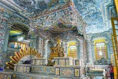 Hoi An - Vietnam Mars 16:: härlig arkitektur för trevlig stad på Arkivbild