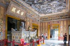 Hoi An - Vietnam Mars 16:: härlig arkitektur för trevlig stad på Arkivbilder