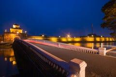Hoi An - Vietnam Mars 16:: härlig arkitektur för trevlig stad på Hoi An den forntida staden Royaltyfri Bild