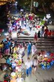 Hoi An - Vietnam Mars 16:: härlig arkitektur för trevlig stad på Hoi An den forntida staden Fotografering för Bildbyråer