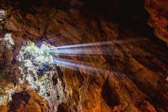HOI, VIETNAM - 20 MARZO 2017: Caverna del marmo, cinque montagne degli elementi, Vietnam centrale Fotografia Stock