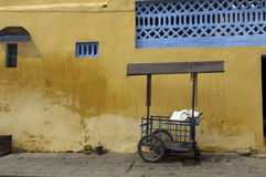 Hoi An Vietnam Sales Cart in front Stock Photography