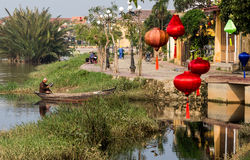 Hoi An Vietnam Scene Royalty Free Stock Photo