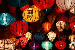 Hoi An, Vietnam. Traditional Asian lamp in Hoi An, Vietnam stock photo
