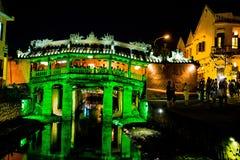 HOI, VIETNAME - 17 DE MARÇO DE 2017: Ponte japonesa Hoi An, Vietname Imagem de Stock Royalty Free