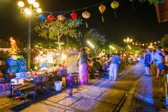 Hoi An - Vietname o 15 de março:: Cidade da luz na cidade antiga de Hoi An Fotos de Stock