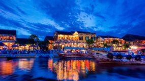 Hoi An view Royalty Free Stock Images