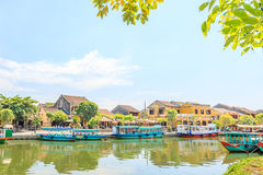 Hoi An is the World's Cultural heritage site, famous for mixed cultures & architecture. Stock Photo