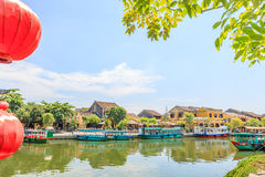 Hoi An is the World's Cultural heritage site, famous for mixed cultures & architecture. Royalty Free Stock Photography
