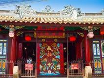 HOIAN,越南, 2017年9月, 04 :寺庙的美丽的景色在hoian的,在越南 免版税库存图片