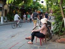 Famous Hoian City Life  - Vietnam Stock Photo