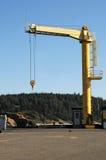 Hoist Crane Royalty Free Stock Images
