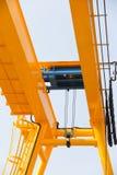 Hoist on the crane Royalty Free Stock Photo