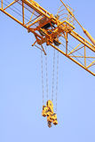 Hoist trolley Mechanism of Tower Crane Stock Image