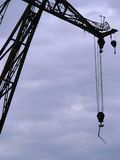 Hoisting crane Royalty Free Stock Images