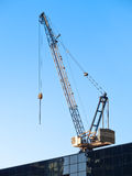 Hoisting crane Royalty Free Stock Photos