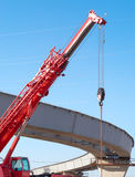 Hoisting crane Royalty Free Stock Image