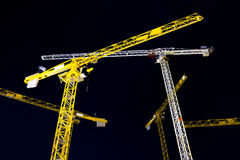 Hoisting cranes Royalty Free Stock Photos