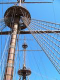 Hoisting the Sails Royalty Free Stock Photography