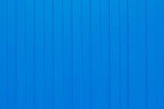 Hoja acanalada del metal azul Fotografía de archivo