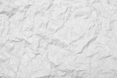 Hoja arrugada del papel Primer de la textura Imagenes de archivo