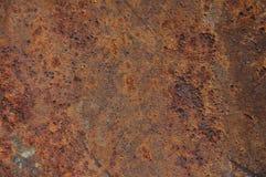 Hoja atascada del hierro Foto de archivo libre de regalías